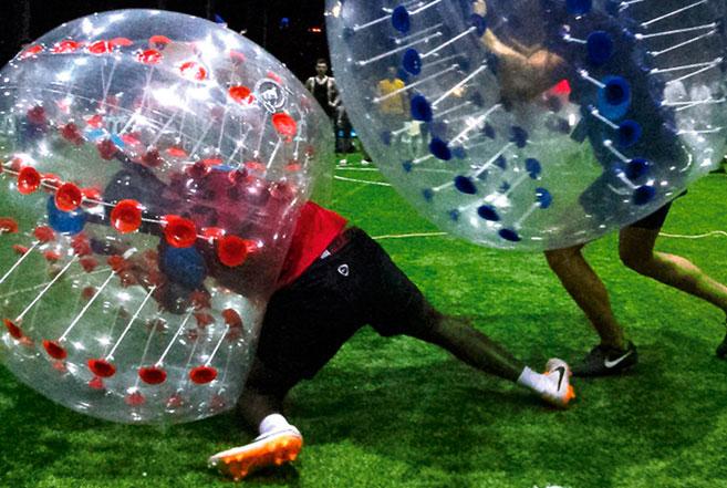 Actividad futbol burbuja Madrid