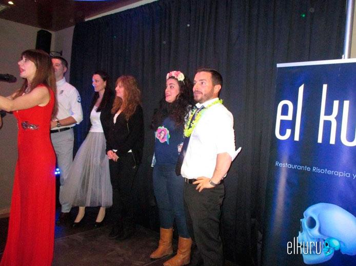 Cena de San Valentín con risoterapia en Madrid