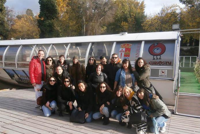 Fiestas en barco Madrid