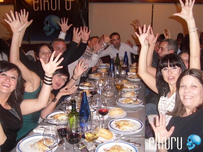 Restaurante para cenas de empresa Madrid