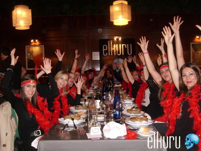 Restaurante para despedidas de soltero Madrid