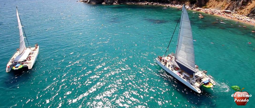 despedidas en barcelona con barco