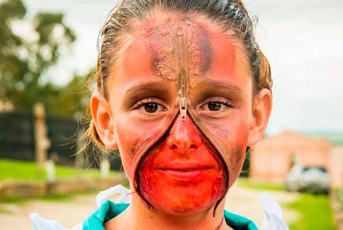 Halloween niños en restaurante con espectáculo Valencia