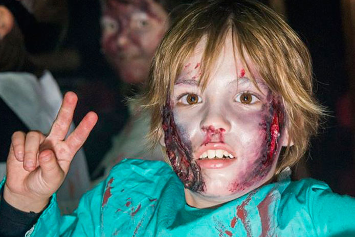 Restaurante divertido para Halloween con niños en Barcelona