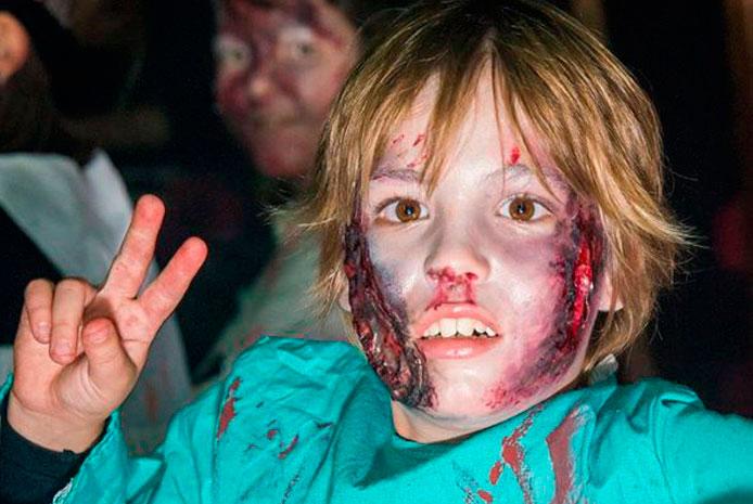 Restaurante divertido para Halloween con niños en Valencia