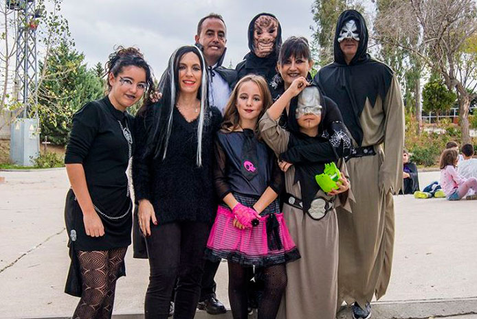 Restaurante espectáculo para Halloween con niños en Barcelona