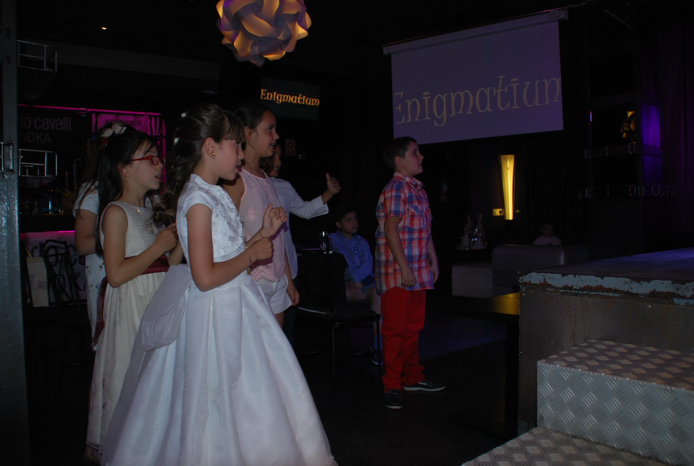 salones comuniones madrid con animacion