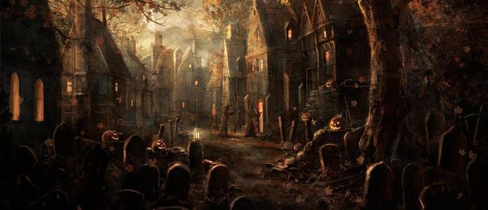 Halloween El Cementerio de las Ánimas