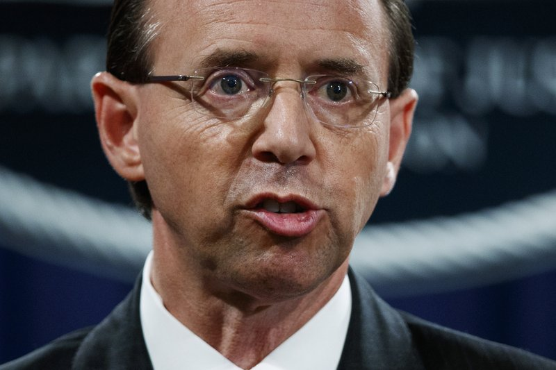 Rosenstein expecting to lose job, heads to White House