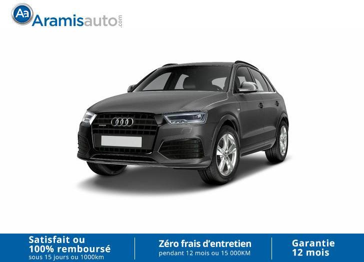voiture audi q3 1 4 tfsi 150 ambiente sur quip gps. Black Bedroom Furniture Sets. Home Design Ideas