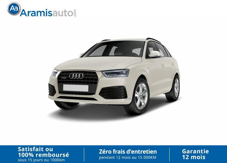 voiture audi q3 2 0 tdi 150 auto 4x4 sur quip sline gps occasion diesel 10 km 37400. Black Bedroom Furniture Sets. Home Design Ideas