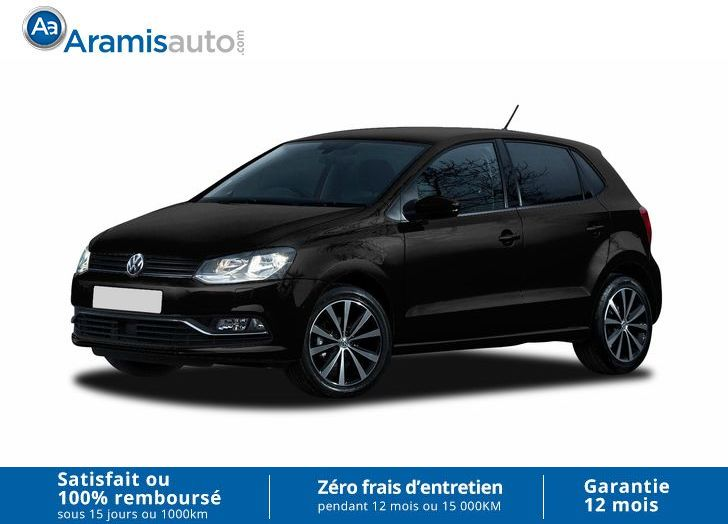voiture volkswagen polo 1 2 tsi 110 auto confortline gps. Black Bedroom Furniture Sets. Home Design Ideas