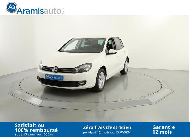 voiture volkswagen golf 1 6 tdi 105 confortline occasion diesel 2011 90631 km 12290. Black Bedroom Furniture Sets. Home Design Ideas