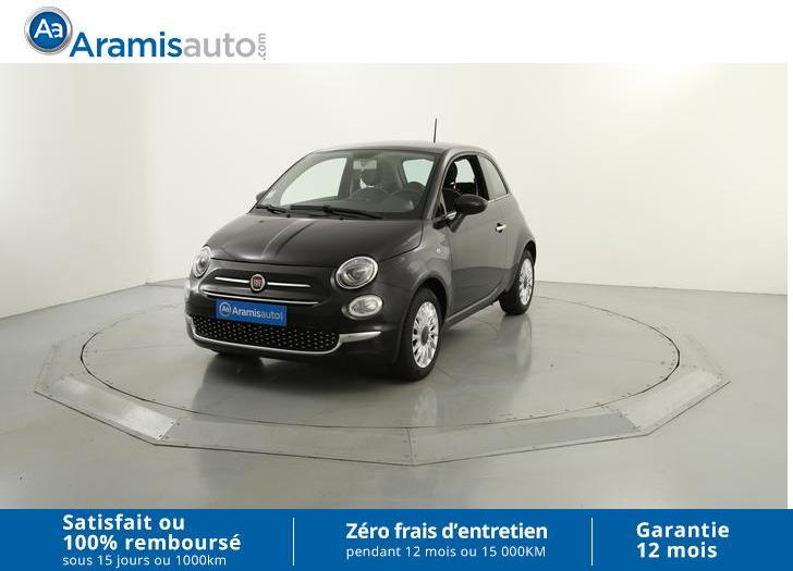 voiture fiat 500 1 2 8v 69 lounge occasion essence 2016 16934 km 10390 mougins. Black Bedroom Furniture Sets. Home Design Ideas