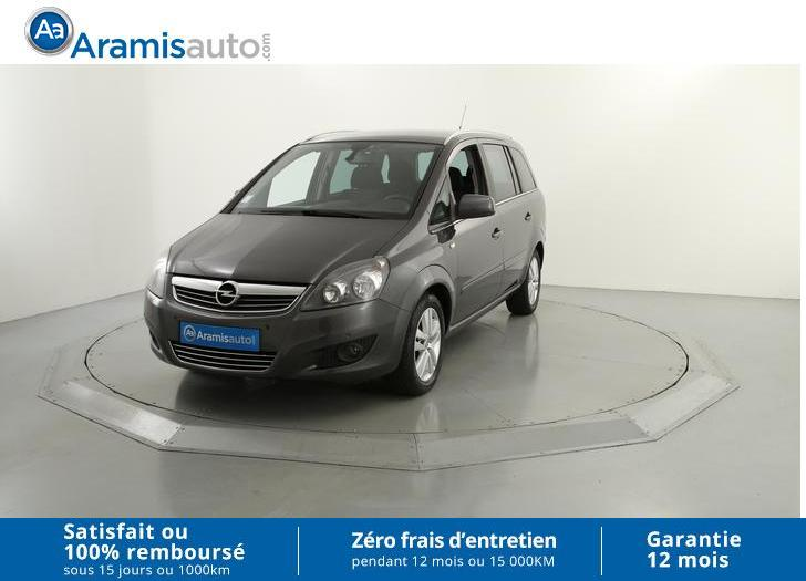 voiture opel zafira 1 7 cdti 125 ch fap cosmo pack occasion diesel 2010 74434 km 9890. Black Bedroom Furniture Sets. Home Design Ideas
