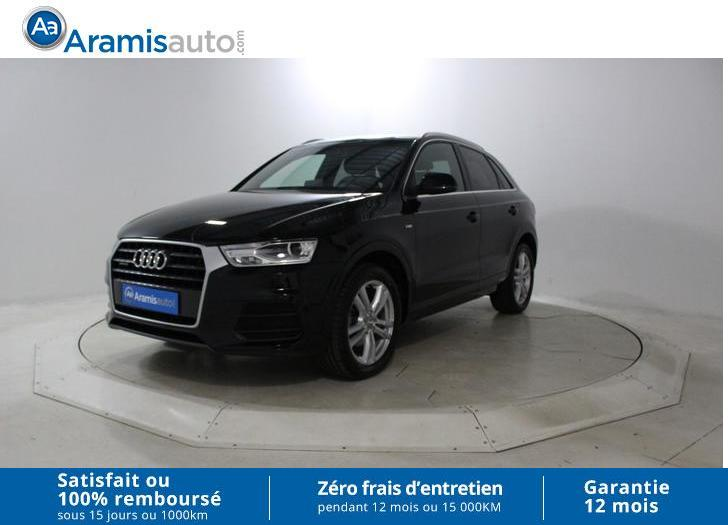 voiture audi q3 2 0 tdi 150 quattro stronic 7 s line occasion diesel 2016 13699 km 36165. Black Bedroom Furniture Sets. Home Design Ideas