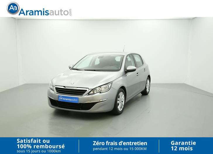 voiture peugeot 308 1 6 hdi 92 active gps sur quip e occasion diesel 2014 23155 km. Black Bedroom Furniture Sets. Home Design Ideas