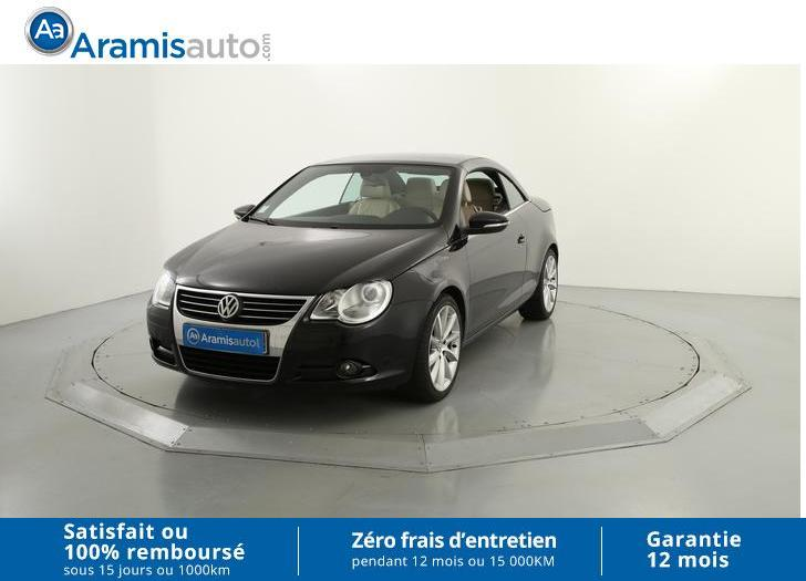 voiture volkswagen eos 2 0 tdi 140 carat occasion diesel 2010 65170 km 14990 mougins. Black Bedroom Furniture Sets. Home Design Ideas