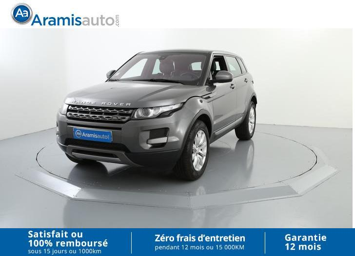 voiture land rover range rover evoque 2 2 td4 150 pure a occasion diesel 2015 17941 km. Black Bedroom Furniture Sets. Home Design Ideas