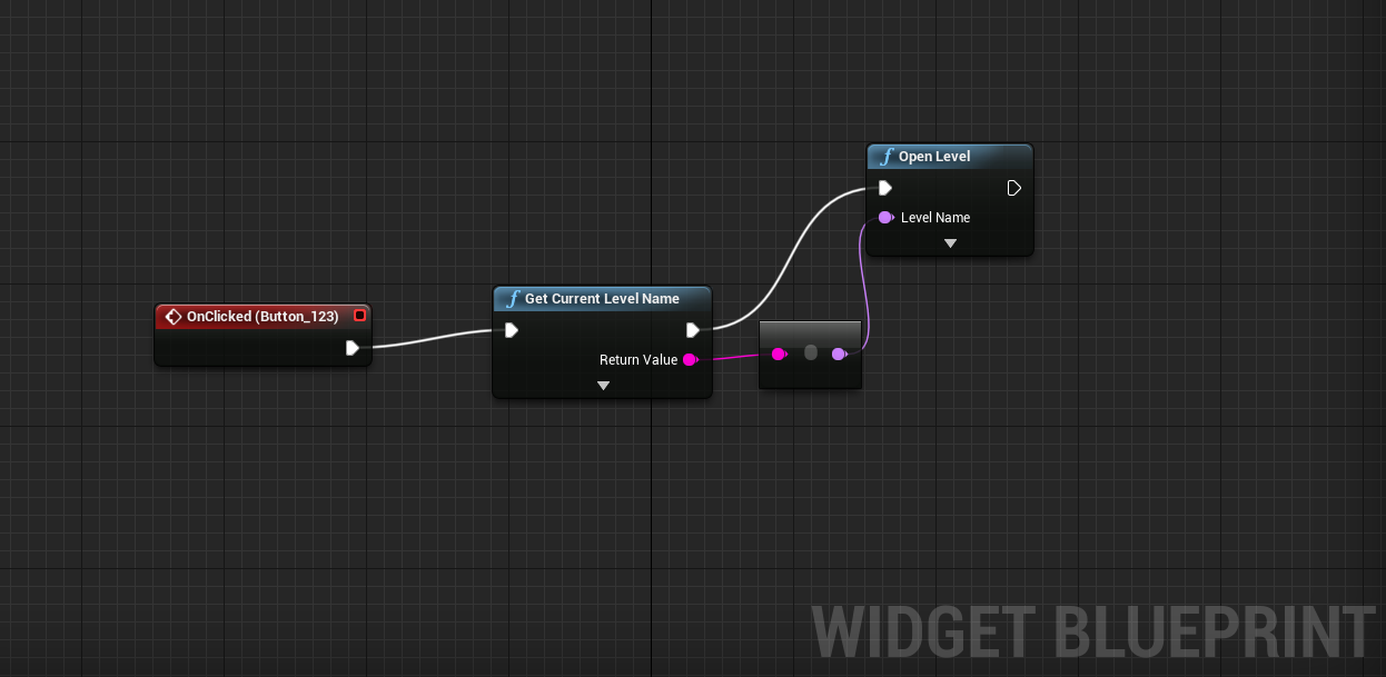 Unreal idiot unreal engine 4 tutorial how to reload the current level the blueprint malvernweather Choice Image