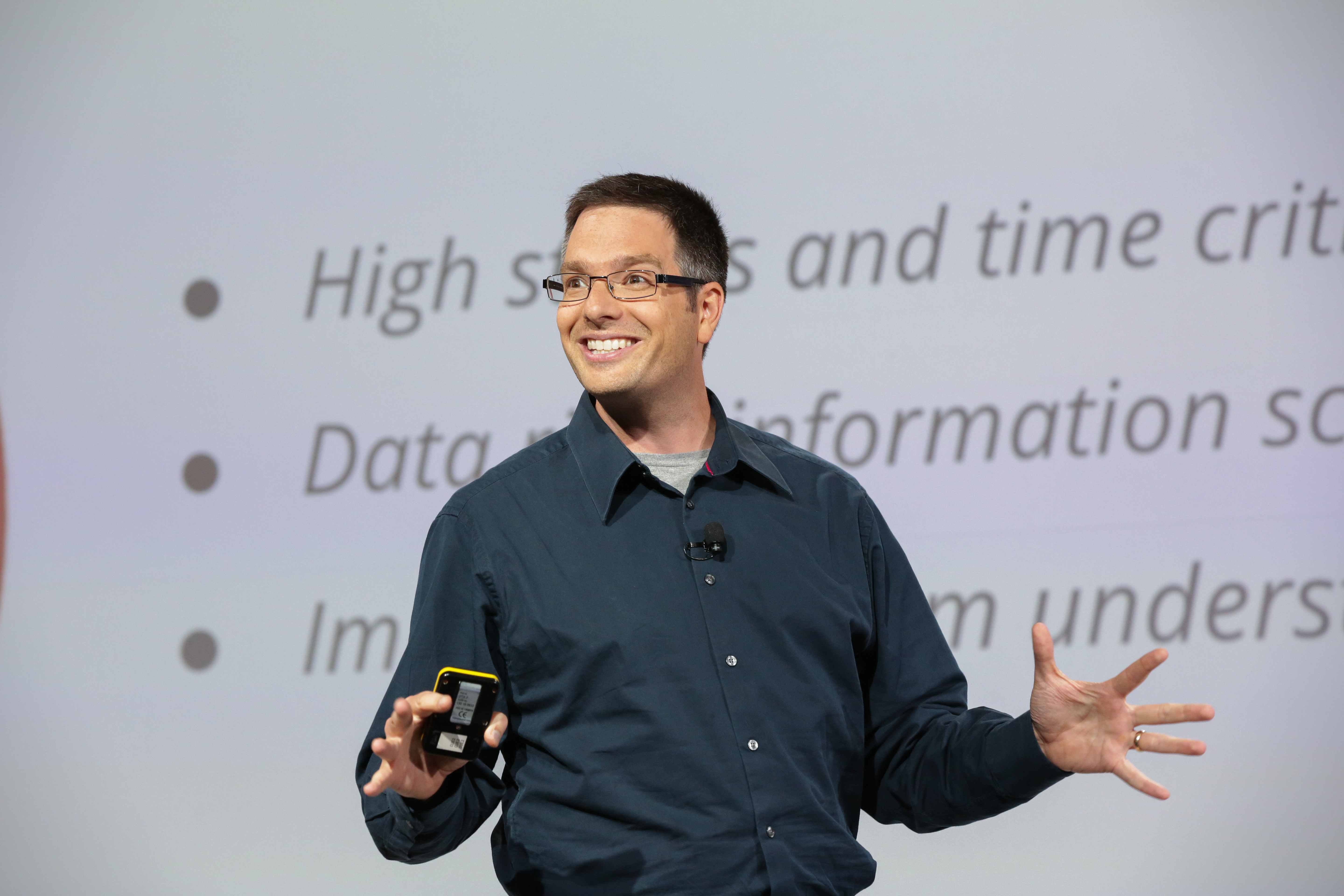 Speaking at GCP Live