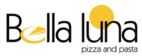 Logo Bella Luna Pizza and Pasta