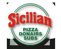 Sicilian Pizza Logo