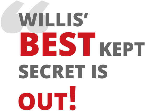 Willis' best kept secret