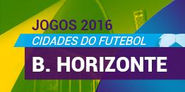 Jogos 2016 - Belo Horizonte