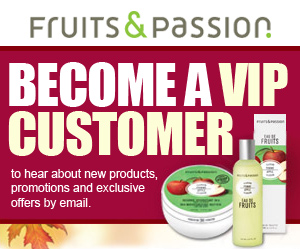 Become a Fruits and Passion VIP