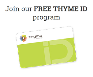 Discover the Thyme ID Card