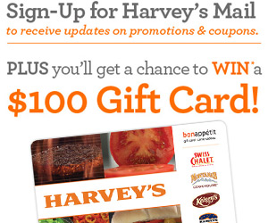 Harvey's Mail to Win and Save