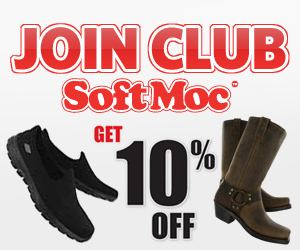 Join Club SoftMoc and Get 10% Off