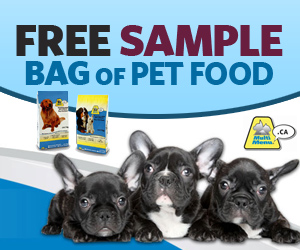 Pet Food Sample Bag