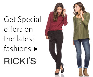 Join the Ricki's Email List
