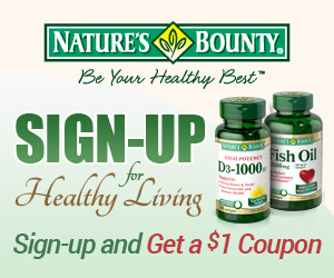Nature's Bounty Newsletter Sign-Up