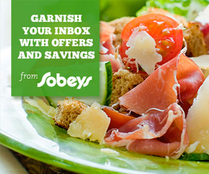 Savings from Sobeys in Your Inbox