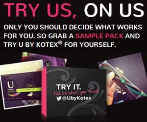 Free U by Kotex Samples