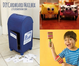 10 Cardboard Creations for Your Kids