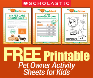 Free Printable Pet Owner Activity Sheets for Kids