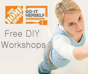 Free Home Depot DIY Workshops