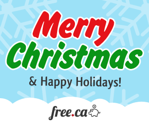 Merry Christmas Free 300x250