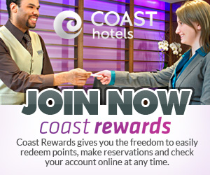 Coast Hotels & Resorts Coast Rewards