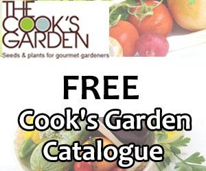 Free Cook's Garden Catalogue