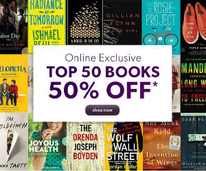 Save 50% off the Top 50 Books