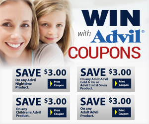 Save with Advil Coupons