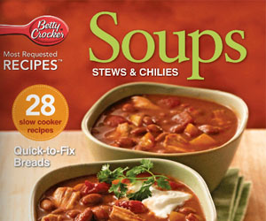 Free Betty Crocker Soup & Stews Recipe e-Book