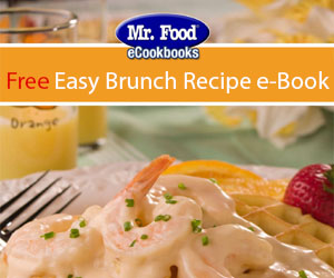 Free Easy Brunch Recipe e-Book