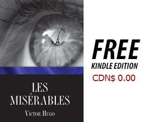 Free Les Miserable Kindle Edition on Amazon