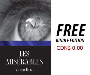 Free Les Miserable Kindle Edition on Amazon